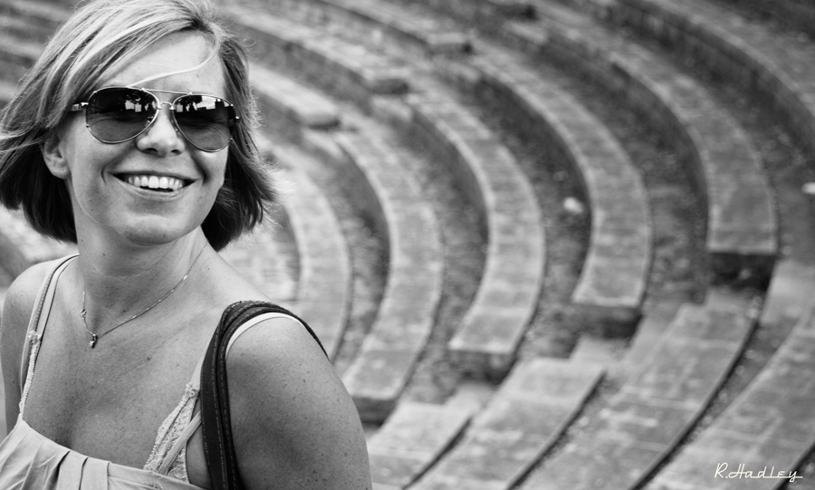Portrait Melanie Berthelot in the GREC, Barcelona.