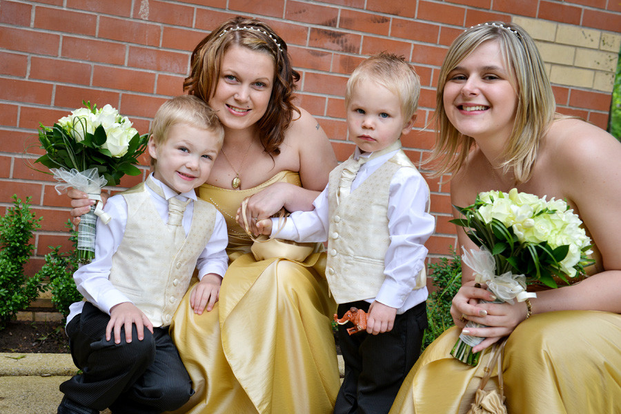 Nuneaton wedding at Riversley Park out side the Museum and Art Gallery