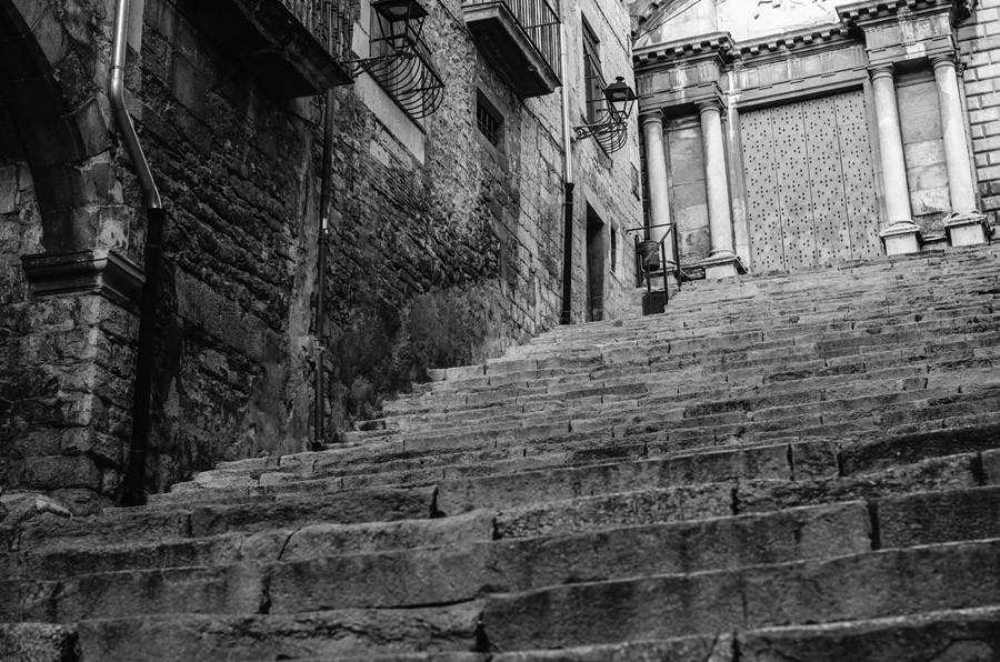 Girona steps.