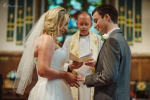 Wedding at St. James Church in Weddington, Warwickshire