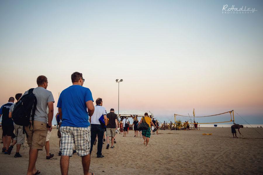 Ocata wedding beach party Barcelona