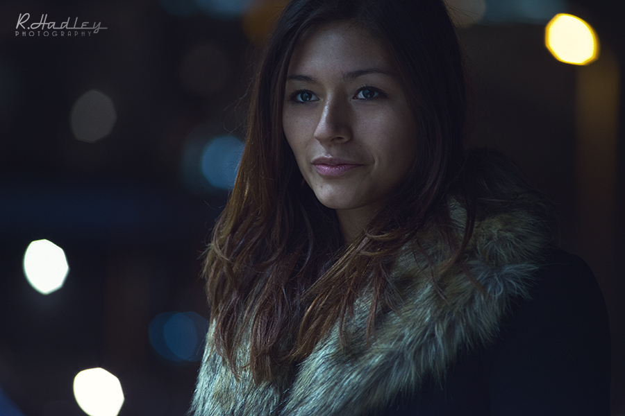 Portrait Hiromi Torres in Barcelona