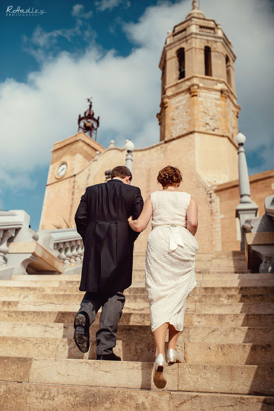 Wedding in SItges, Barcelona Spain.