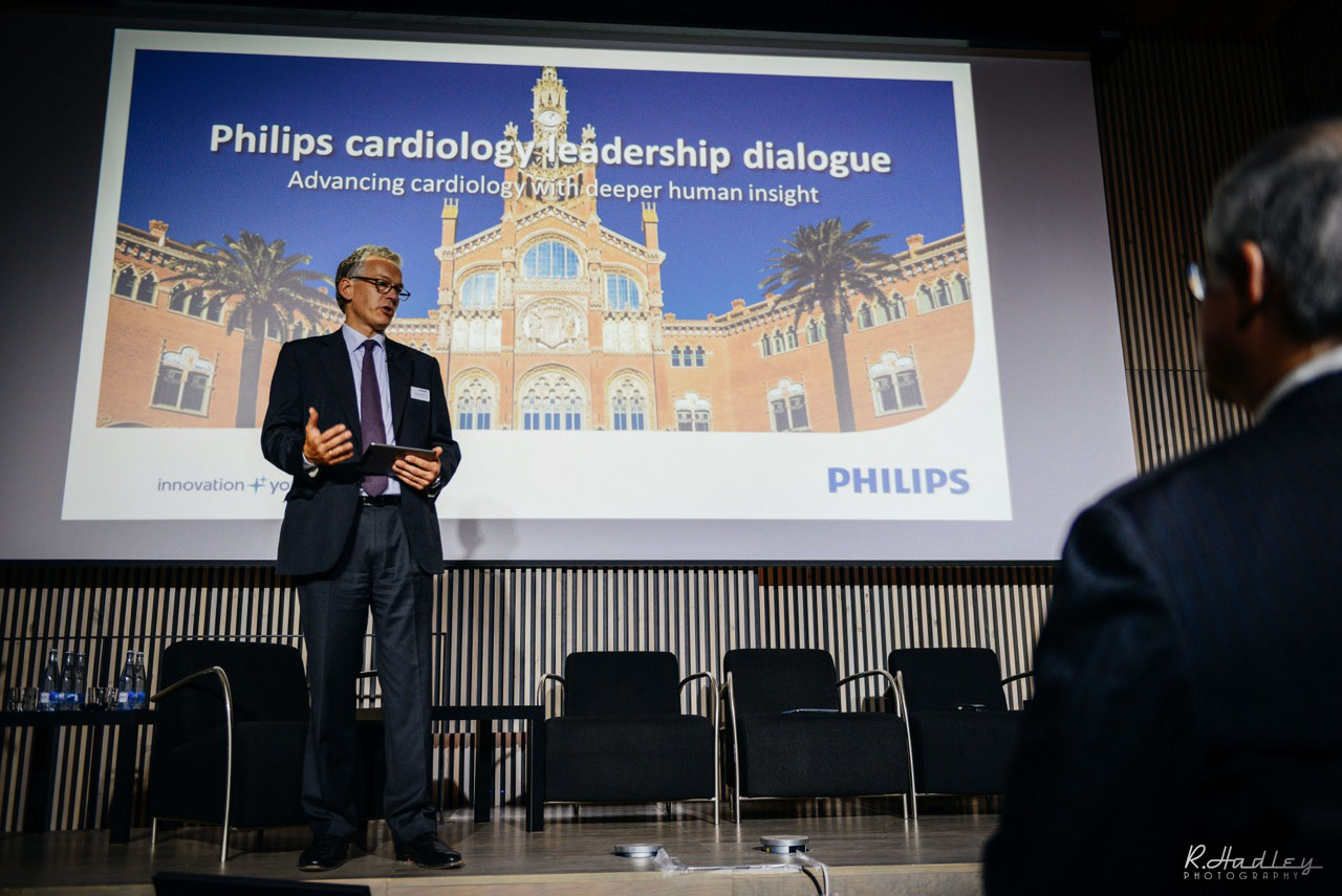Event photography for Philips at Hospital de Sant Pau, Barcelona