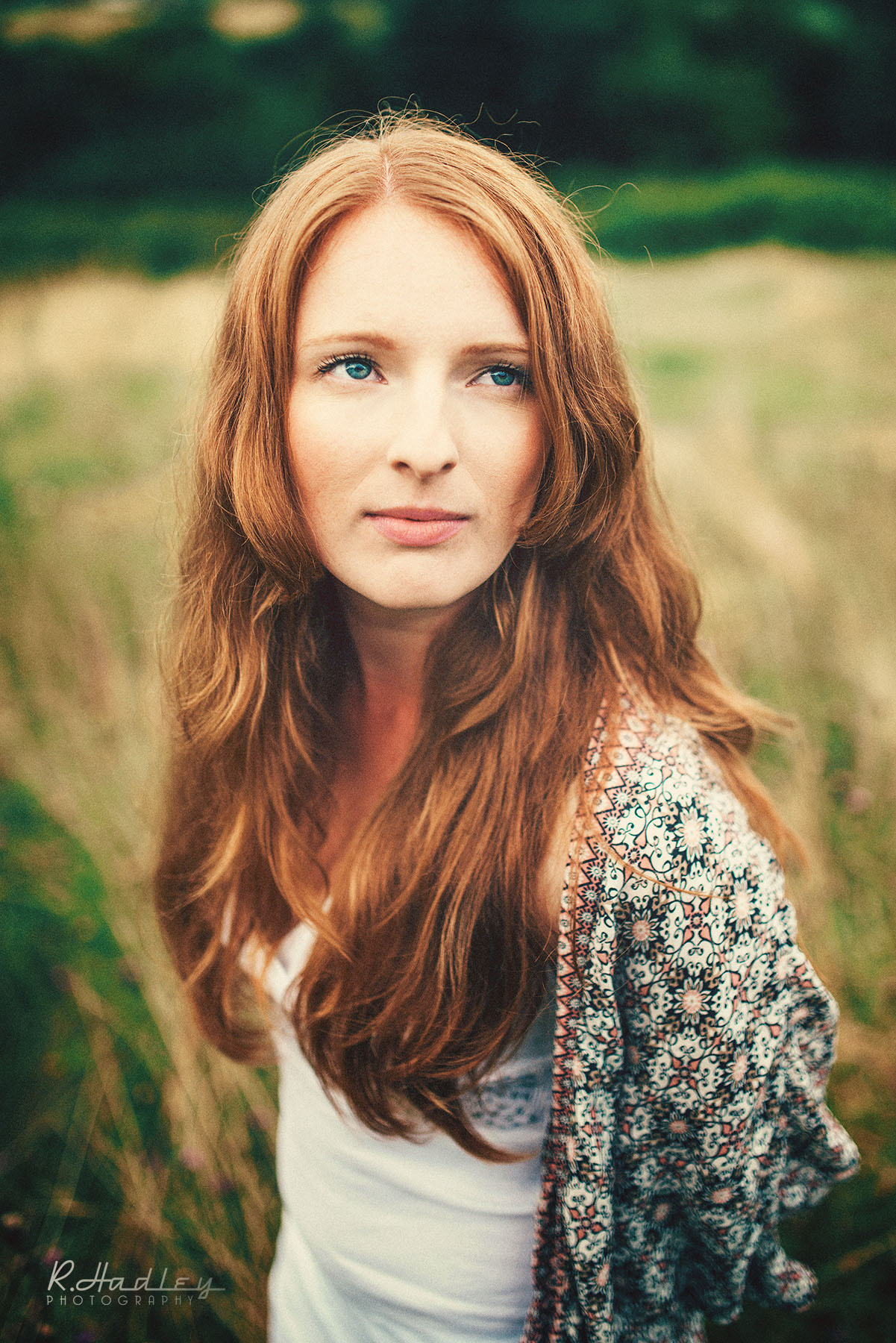 Portrait shoot of Hayley Slatford at Hartshill Hayes Country Park