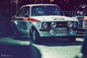 Barcelona event of Rallye Monte-Carlo Historique 2015