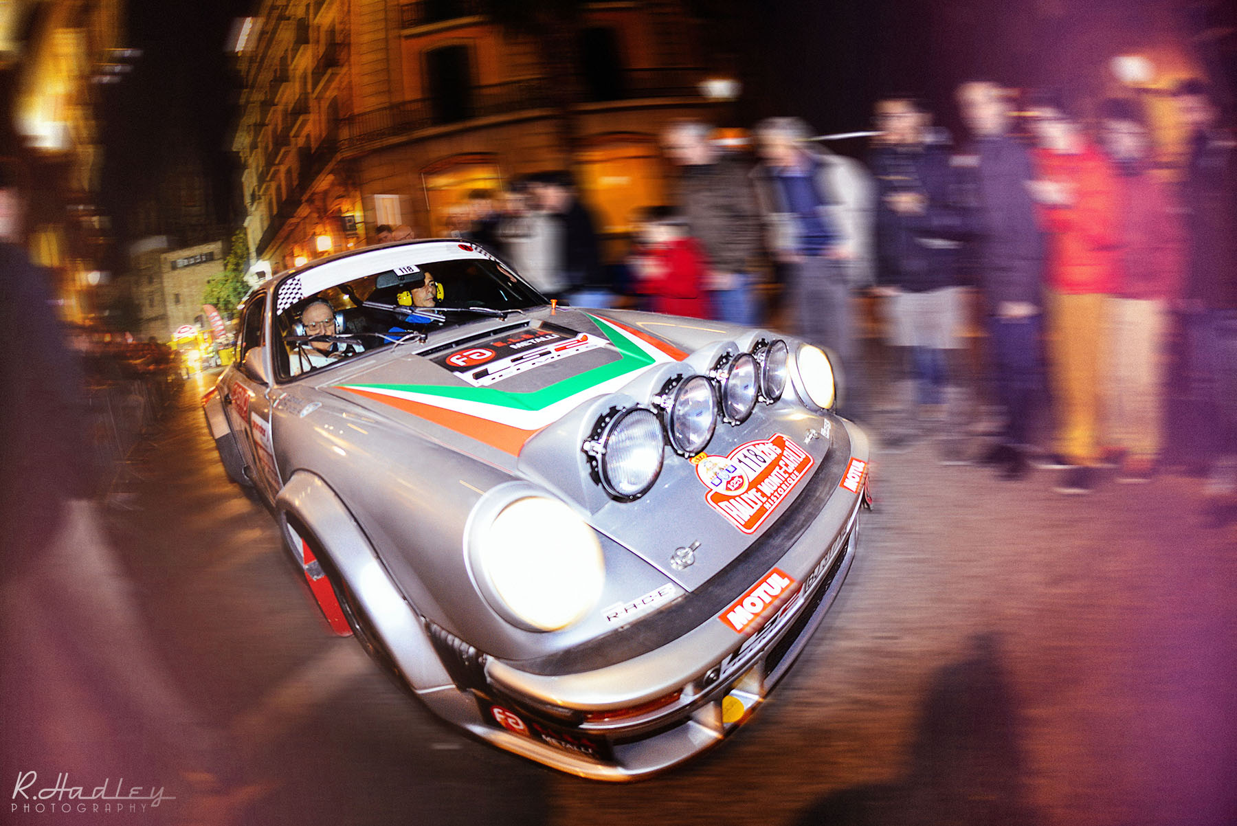 Barcelona event of Rallye Monte-Carlo Historique 2015