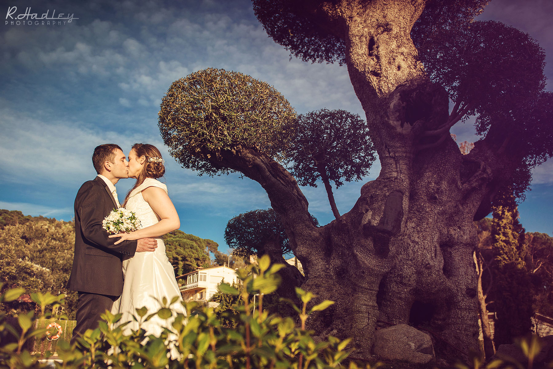 Wedding at the Hotel Can Galvany near Barcelona