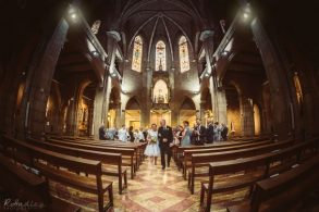 Wedding at the Nostra Señora del Rosario Church in Barcelona