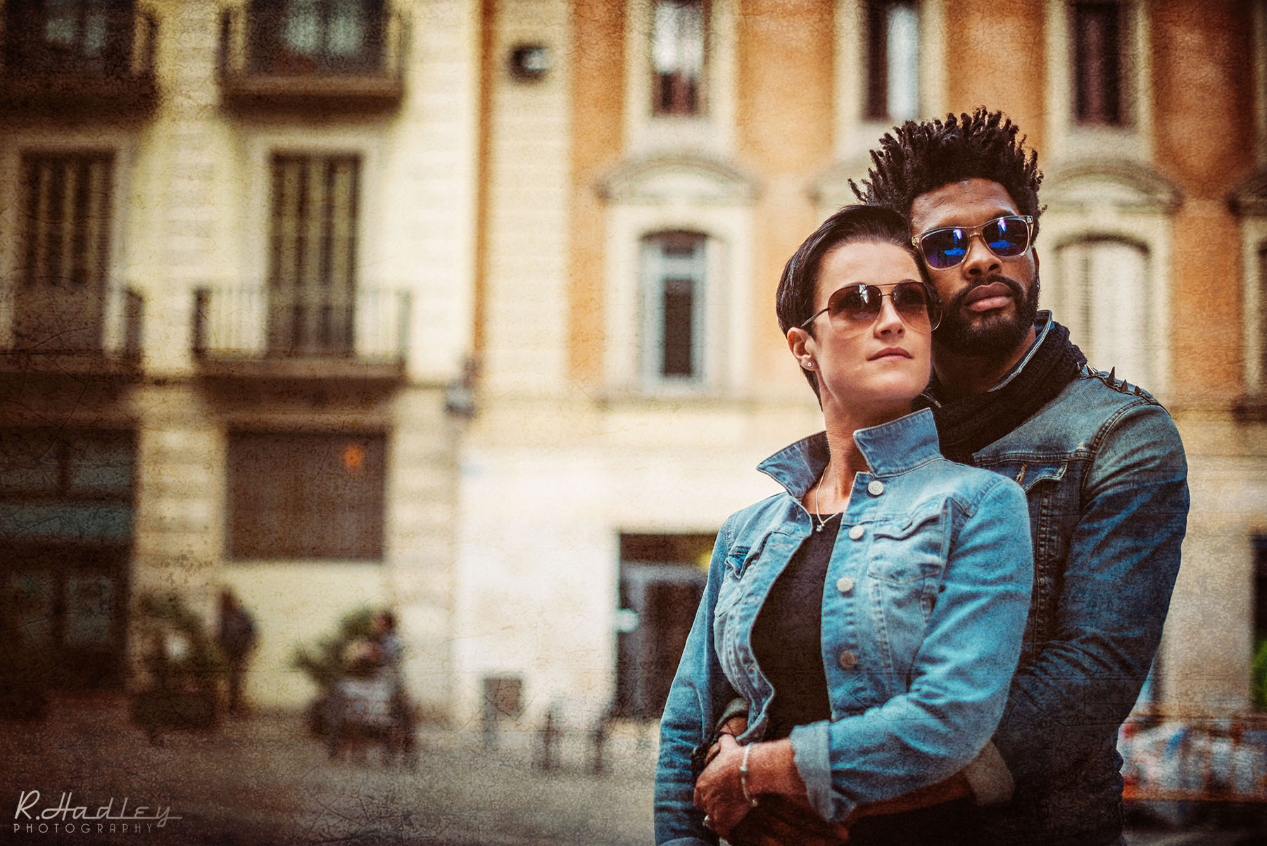 Portrait, engagement, wedding photo shoot in Barcelona