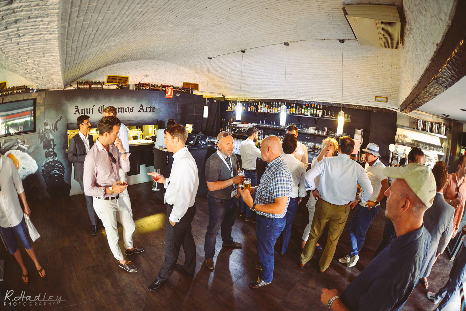 Corporate Event in Barcelona. Nikon D600 with Sigma 15mm Fisheye lens