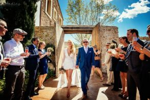 Wedding at Casa Felix in Sitges near Barcelona.