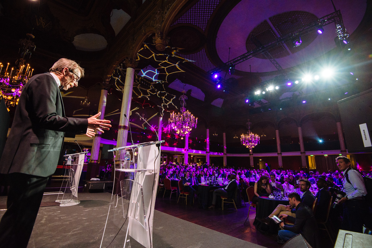 Event photographer at the Salle Wagram in Paris