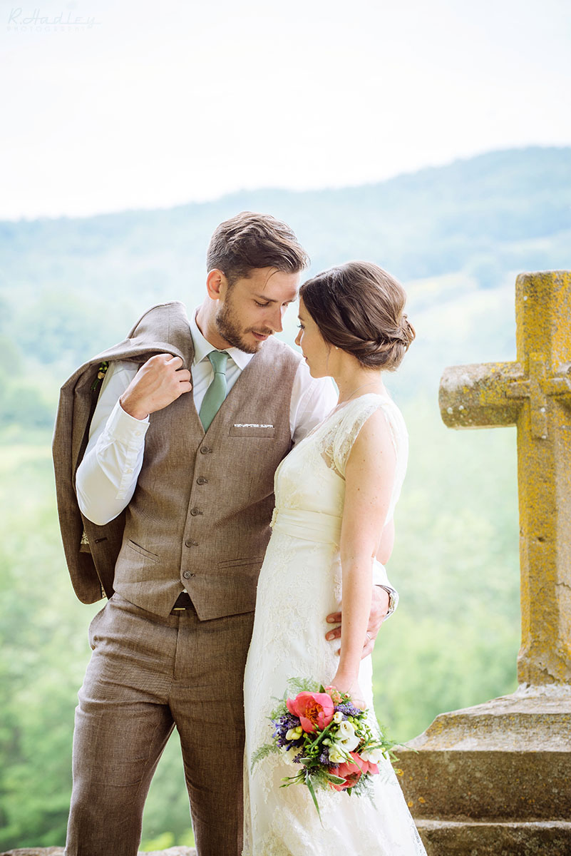 Wedding at L'Abbaye-Chateau de Camon in the South of France