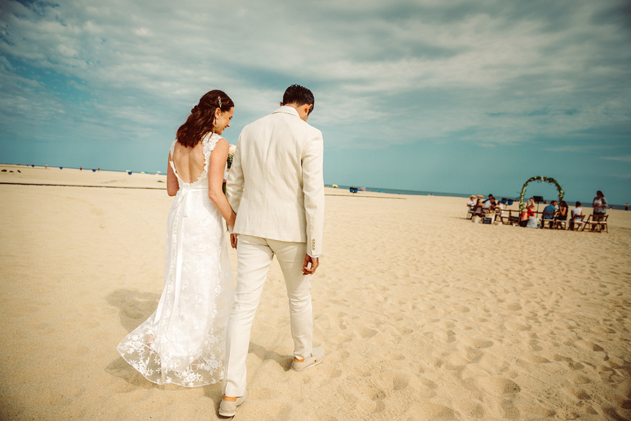 Wedding in Barcelona on the beach
