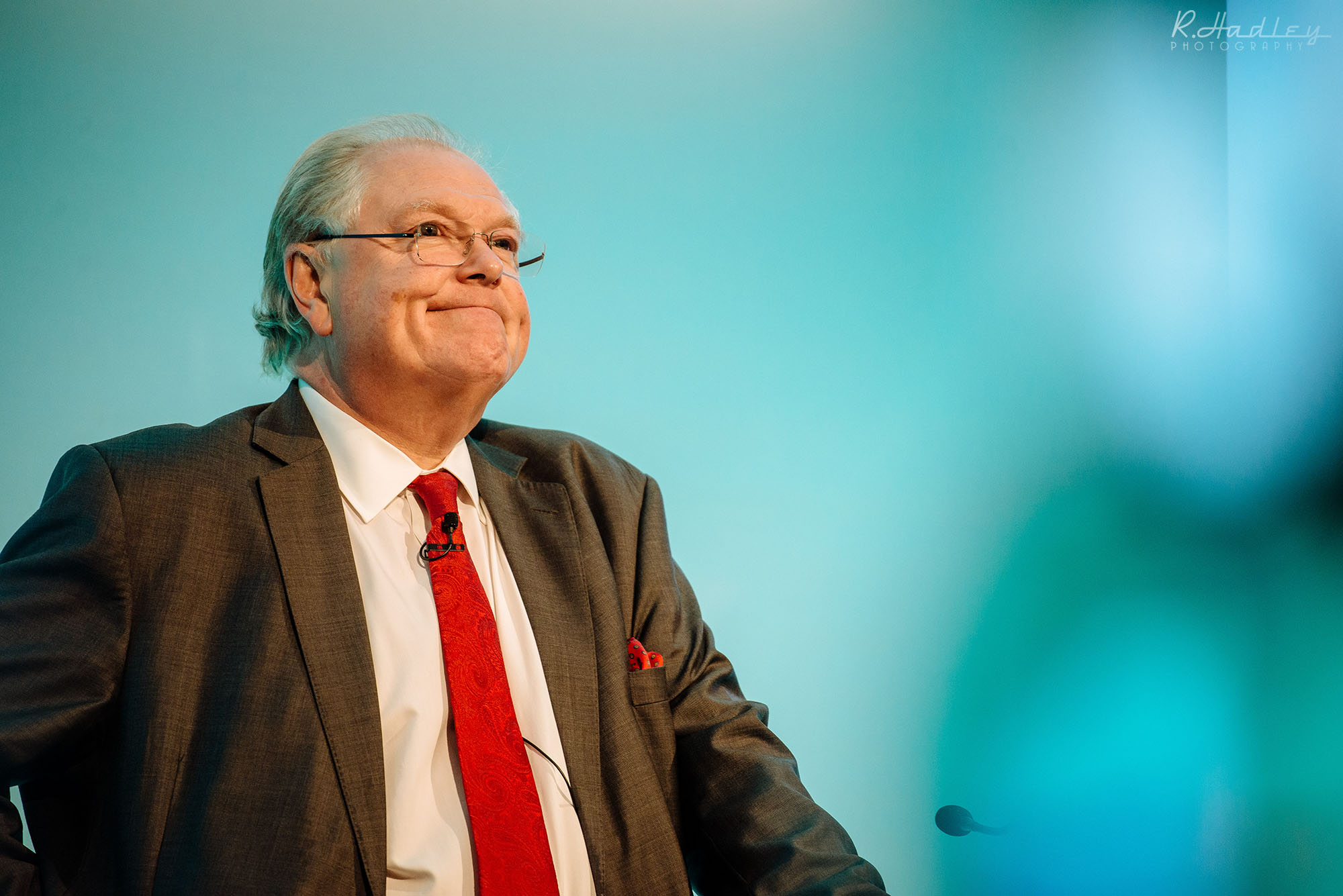 Digby Jones speaking at a Corporate Event in London