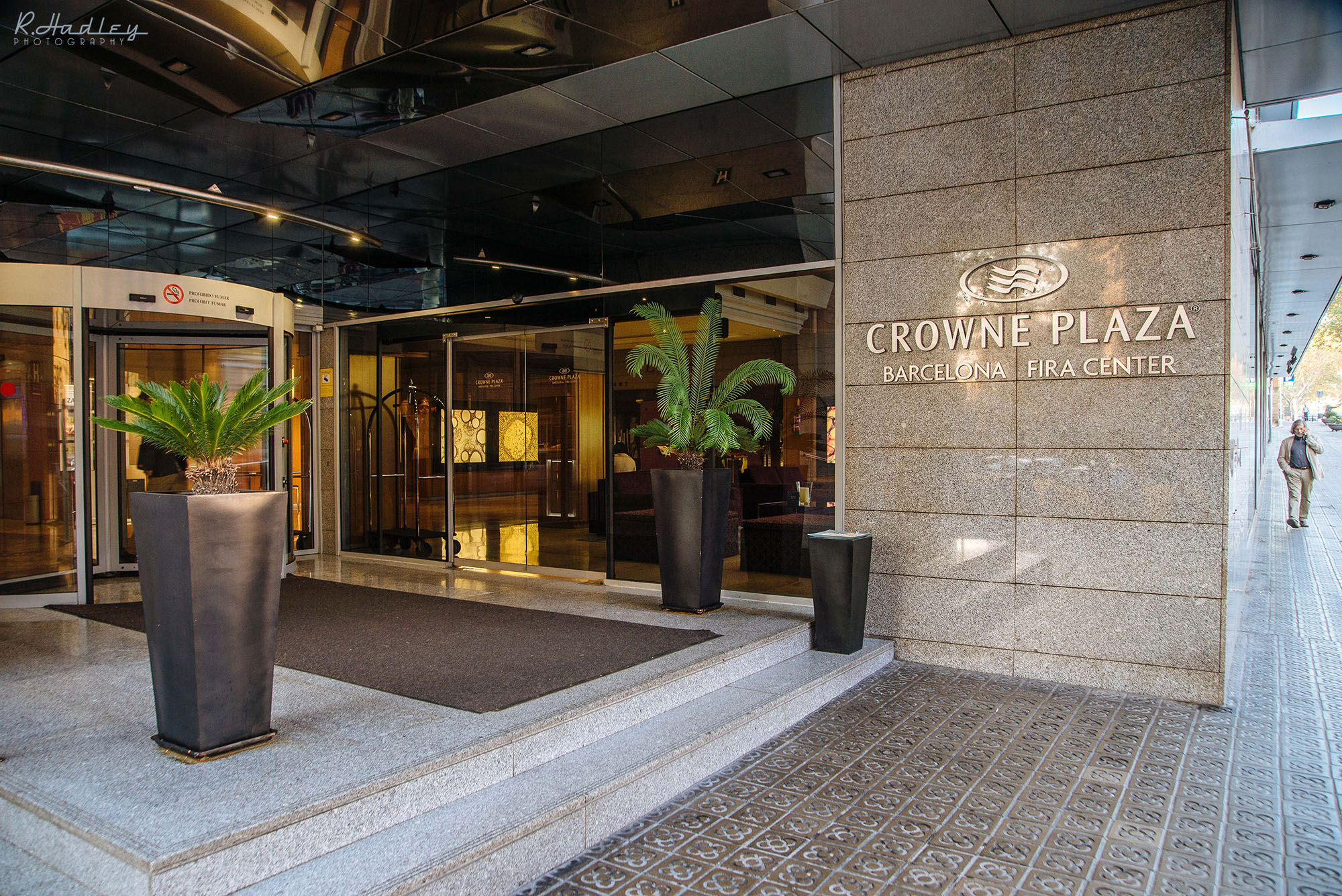Corporate event photography at the Crowne Plaza in Barcelona