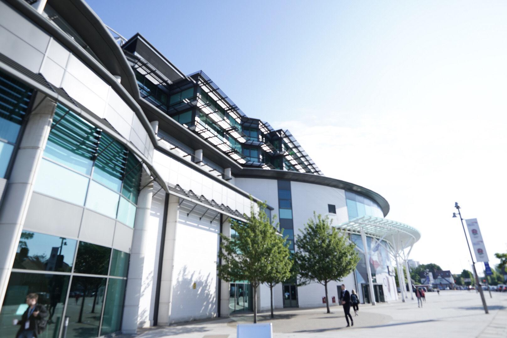 Corporate event photographer at Twickenham Stadium in London