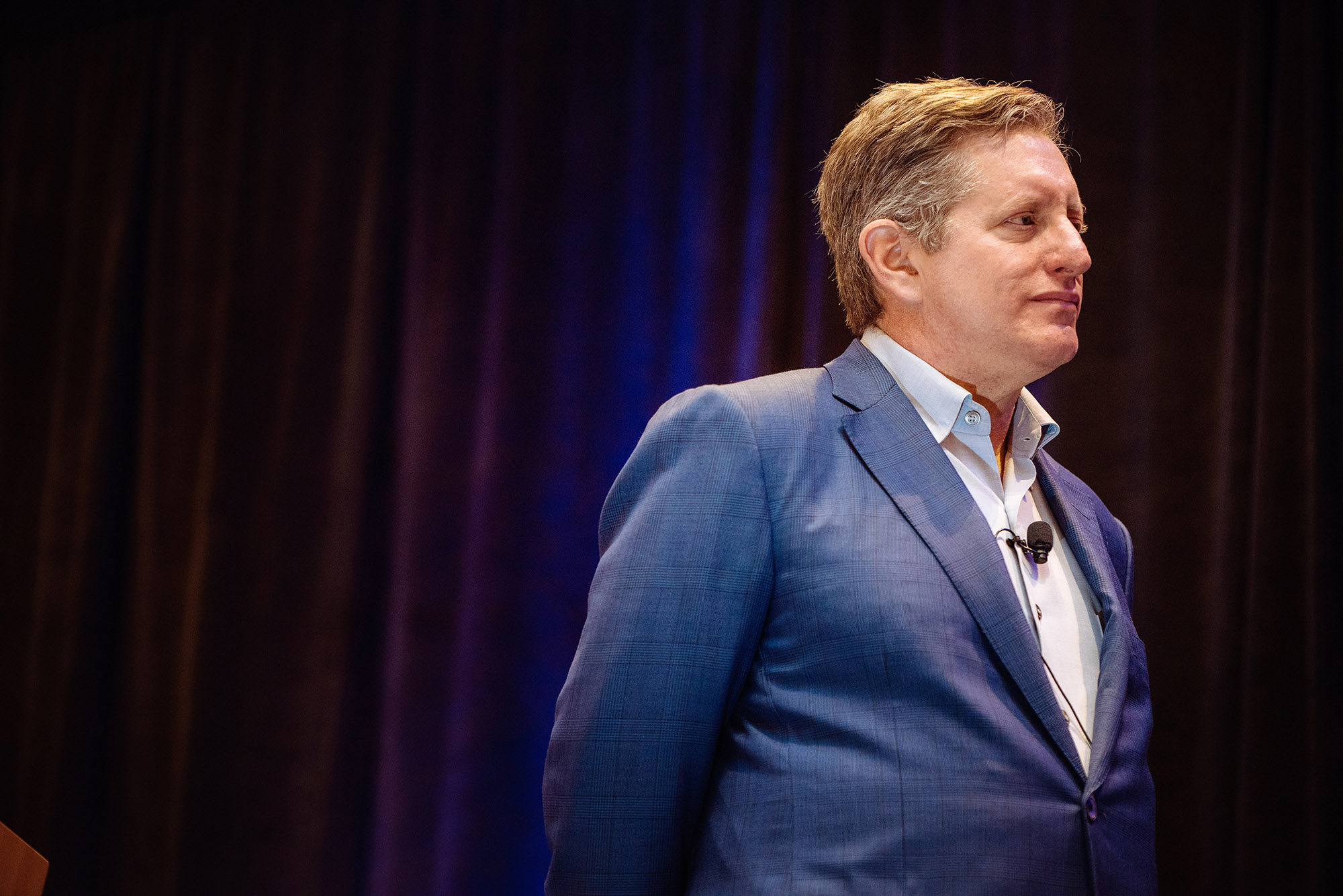 Event photography at the Eden Roc in Miami with guest speaker; Steve Eisman -